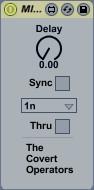 MIDI Delay